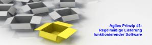 Agiles Prinzip 3: Regelmäßige Lieferung funktionierender Software